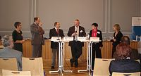 Moderation Podiumsdiskussion